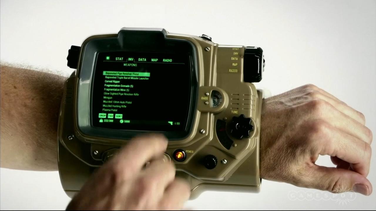 il vero Pip-Boy in Fallout 4