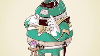 Power Ranger in versione obesa