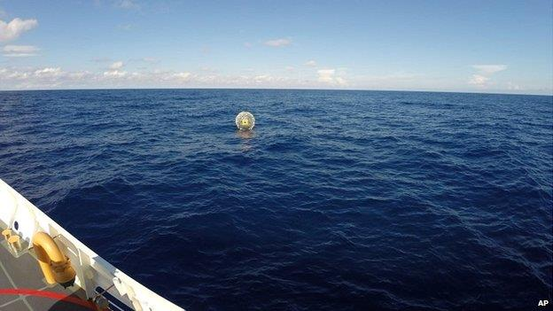 La bolla gigante gonfiabile in cui è stato trovato Reza Baluchi