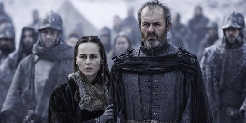 Stannis e Selyse Baratheon in Game fo Thrones