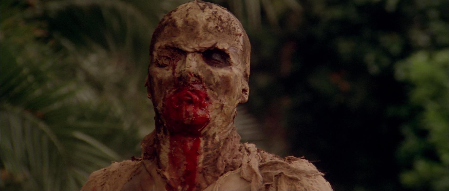 Una scena del film Zombi 2