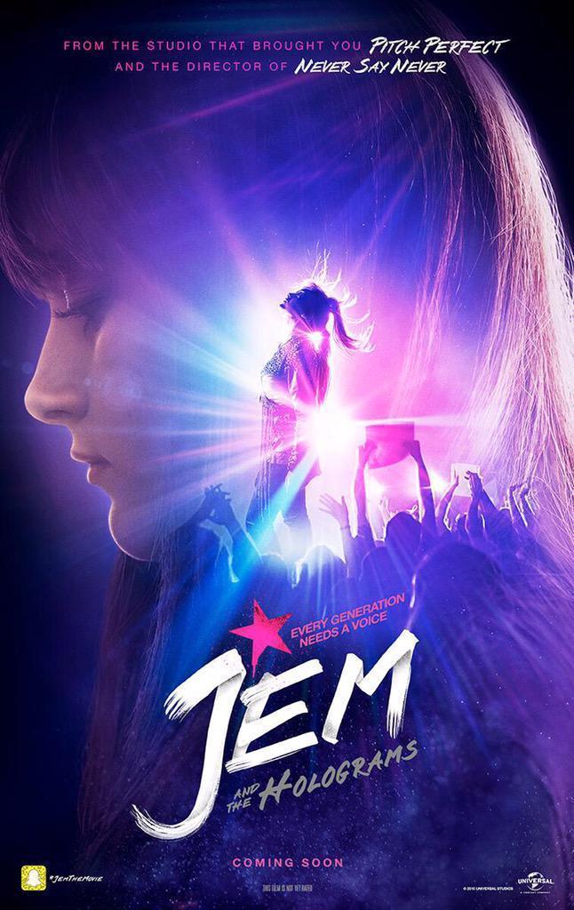Poster del film Jem e le Holograms