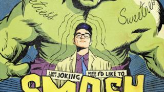 Morrissey come se fosse un supereroe Marvel