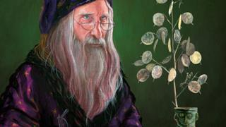 Illustrazione di Albus Dumbledore fatta da Jim Kay