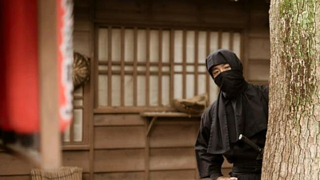 La foto di un ninja