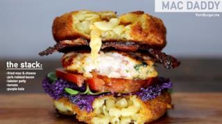 Hamburger solo per carnivori appassionati
