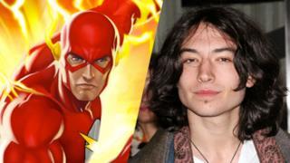 Ezra Miller descrive il suo Flash nella versione cinematografica