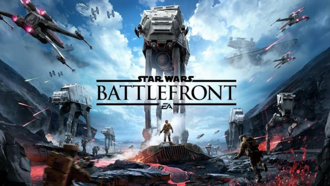 Poster ufficiale di Star Wars Battlefront