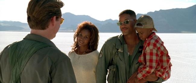 Will Smith nell'originale Independence Day