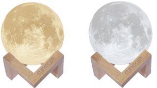 La lampada a forma di Luna