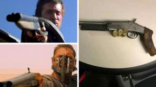 I fucili a canne mozze di Gibson, Hardy e dell'imitatore folle
