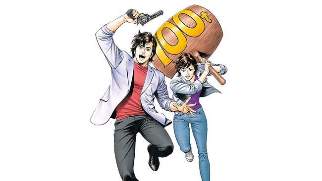 Ryo e Kaori, protagonisti di City Hunter