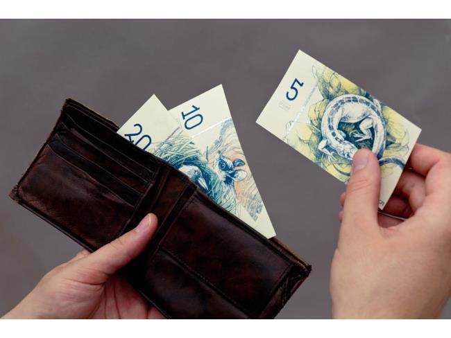 banconote euro ungheresi pronte all'uso