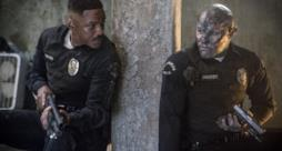Will Smith e Joel Edgerton in una scena di Bright.