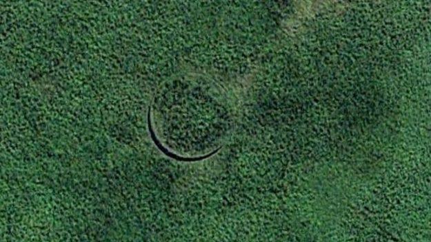 Il buco misterioso nel Sudan visto da Google