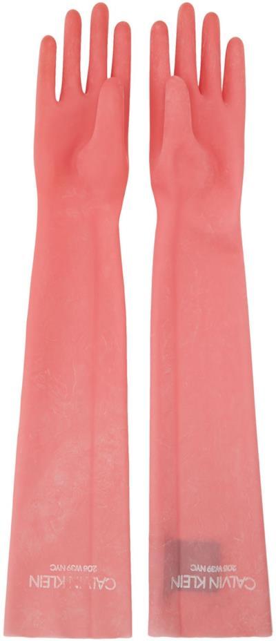 I guanti di Calvin Klein da 390 dollari al paio