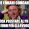 Anche Errani condannato tocca prestare al pd gli 80 euro per gli avvocati