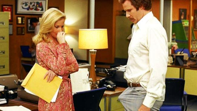 Will Ferrell in Anchorman - La leggenda di Ron Burgundy