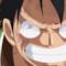 Rufy dal Cappello di Paglia è il pirata con la taglia più alta in One Piece
