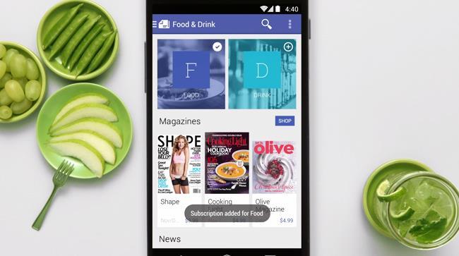 Google Play Edicola è l'app per sfogliare i tuoi giornali preferiti online