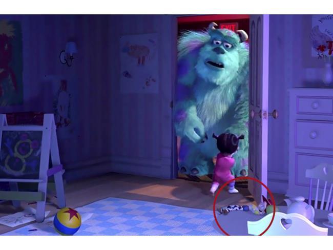 Una scena di Monsters & Co.