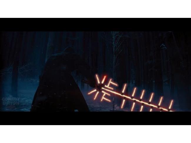Spada di Star Wars 7 elevata alla X