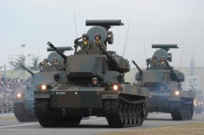 Gli RMV-1 Guntank II nella realtà