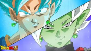 Vegeth contro Zamasu Fuso