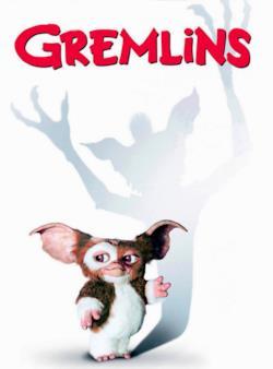 Il poster di Gremlins (1984) con Gizmo
