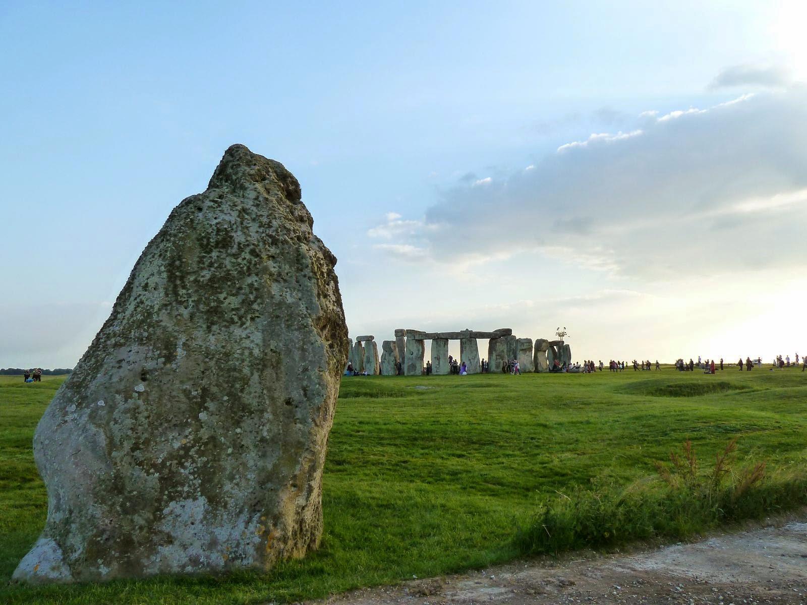 La Heel Stone di Stonehenge
