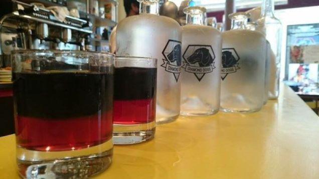 I drink serviti nel ristorante di Metal Gear Solid