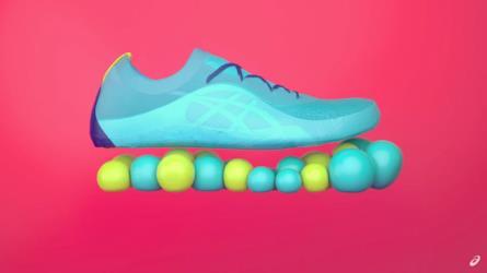 Ecco le scarpe Asics che si personalizzano nel microonde ba22e11a249