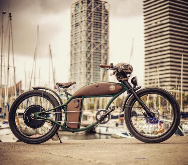 Rayvolt Arriva La Bicicletta Che Somiglia A Una Moto Harley Davison