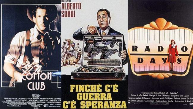 Le locandine di tre dei film consigliati