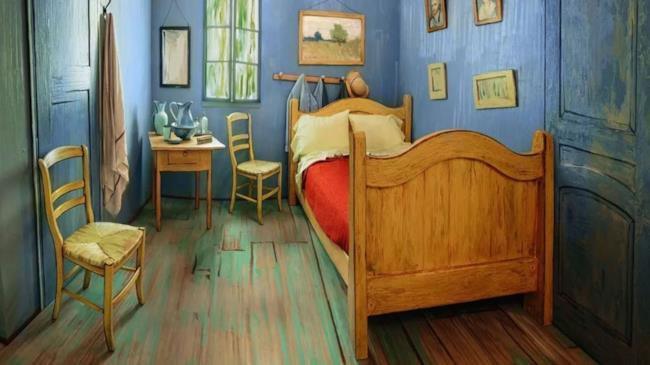 Su Airbnb è in affitto la camera da letto di Vincent Van Gogh