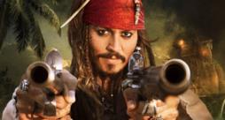 Jack Sparrow in Pirati dei Caraibi