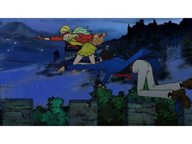 Lupin esplora i tetti con Rebecca