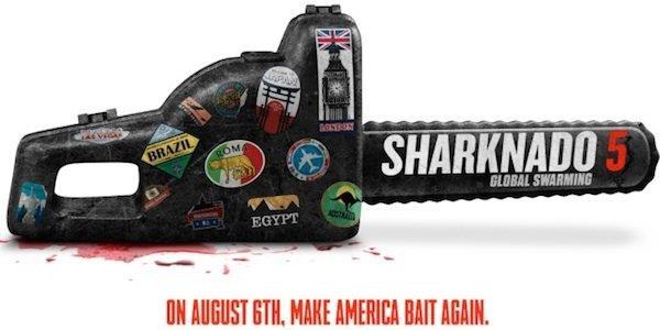 Data e prima copertina per Sharknado 5: Global Swarming