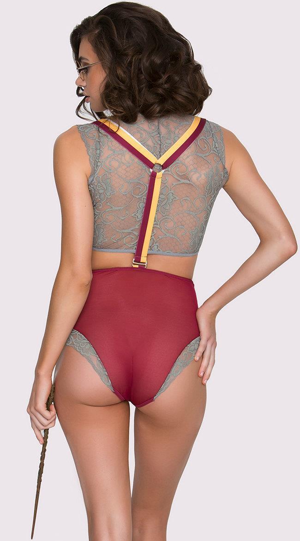 Ecco il set di lingerie visto da dietro