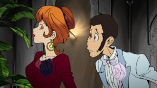 Lupin e una gelosissima Fujiko