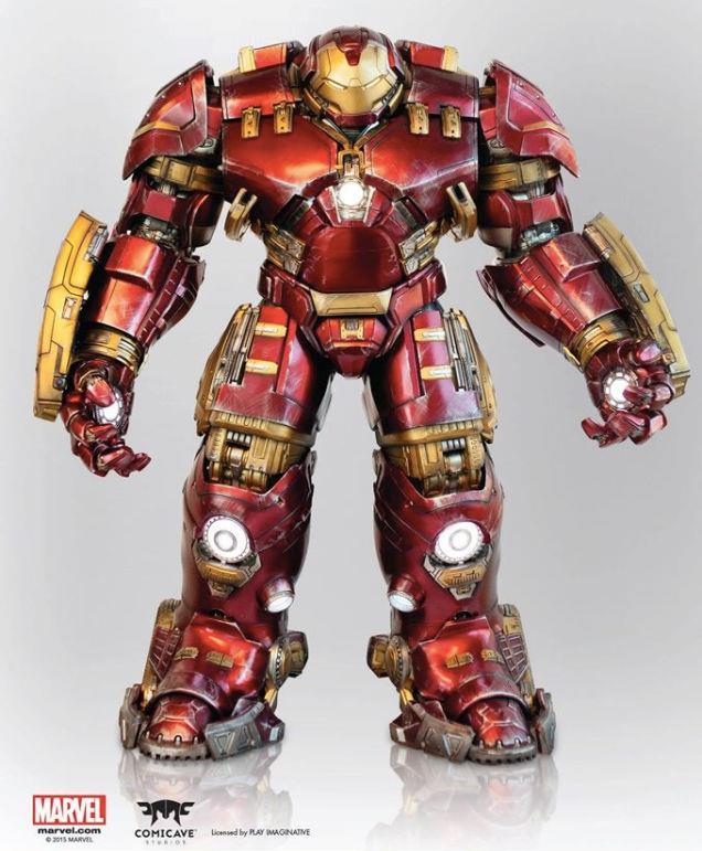 L'armatura Hulkbuster di Comicave Studios