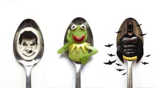 Questa food-art al cucchiaio è da mangiare in un boccone!