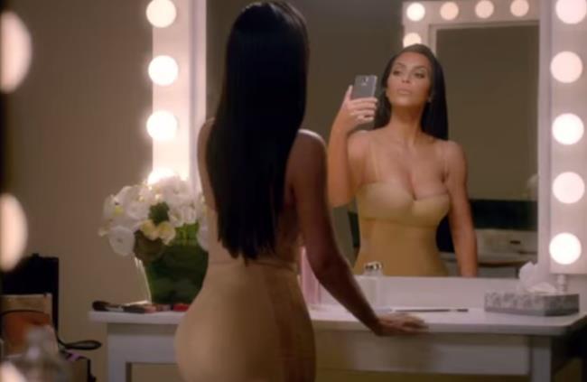 Kim Kardashian nello spot T-Mobile del Super Bowl 2015
