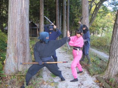 Alcuni ninja in azione