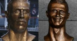 I busti di Bale e Ronaldo