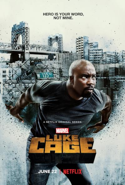 Luke Cage nella copertina ufficiale