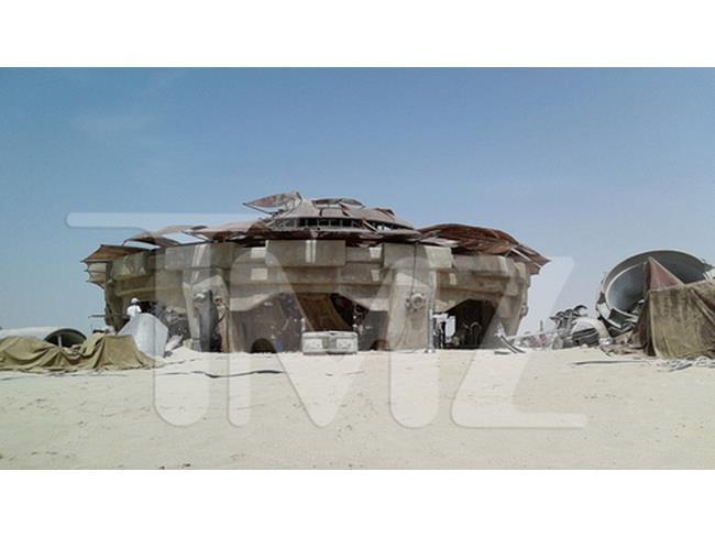 Foto di un palazzo di Tatooine