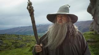 Ian McKellen è Gandalf