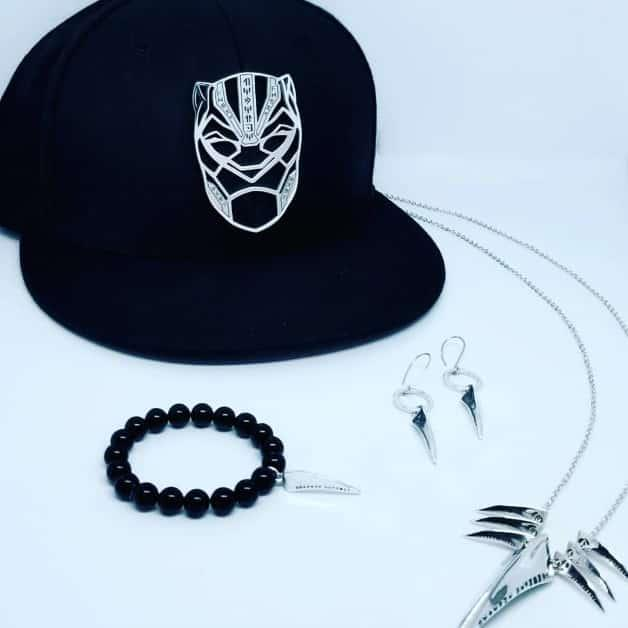 I gioielli della linea di Black Panther