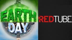 Il logo ufficiale di RedTube e della Giornata della Terra